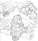 Раскраска по сказке морозко