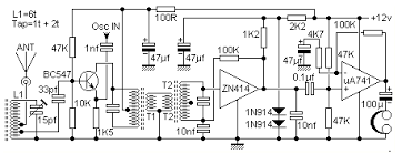 zn414 am radio receiver circuit diagram by harry lythall
