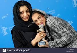 bayat stock photos bayat stock images alamy ian actresses sarina farhadi r and sareh bayat pose the award for best