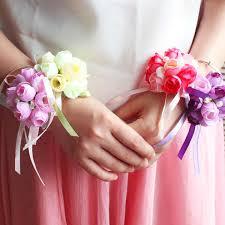 2019 New Arrival <b>Wrist Corsage Hand Corsage Flowers</b> Wedding ...