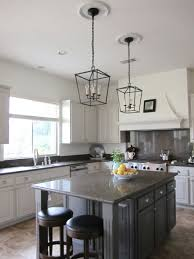 slightly off center also kitchen island lighting lantern and elegant kitchen lamps besides metal pendant lamps hanging lamp set with bulb light kitchen center island lighting