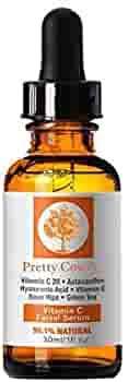 <b>Pretty Cowry</b> Facial Whitening Vitamin C & E Serum Hyaluronic Acid ...
