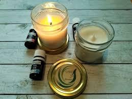 Soy wax <b>aroma candle</b> with <b>essential oils</b> 100ml – купить на ...