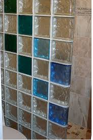 shower conversions glass blocks colored glass block shower wall in los alamos new mexico