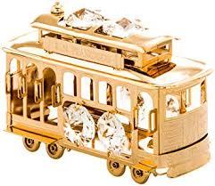 San Francisco Cable Car 24k Gold Plated Figurine ... - Amazon.com
