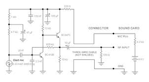 microphone computer circuit schematic diagram   wiring diagrammicrophone computer circuit schematic diagram