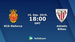 RCD Mallorca Athletic Bilbao live score, video stream and H2H ...