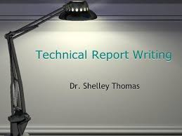 Formal Reports   Introductory remarks in an oral presentation