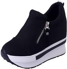 Dasuy Women's Hidden Wedge Ankle Boots Women ... - Amazon.com