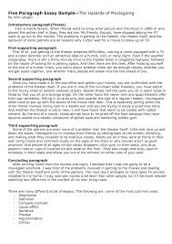 example of five paragraph essays template example of five paragraph essays