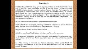 debrief of the essays from the california bar exam debrief of the essays from the 2013 california bar exam part iii q3 tort remedies