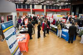 career development center job internship fair