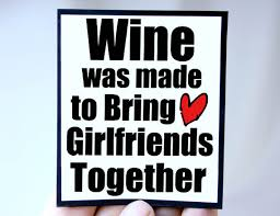 Wine And Friendship Quotes. QuotesGram via Relatably.com