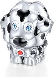 Amazon.com: <b>GW 925</b> Sterling <b>Silver</b> Puppy Dog Animal Charms ...