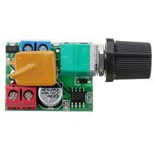 <b>DC 5V To 35V</b> 5A Mini Motor PWM Speed Controller Small LED ...