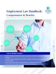 labor law lansing mi michigan chamber of commerce employment law e handbook compensation benefits compensation benefits book cover
