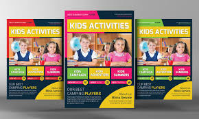 junior school photos graphics fonts themes templates kids school education flyer template