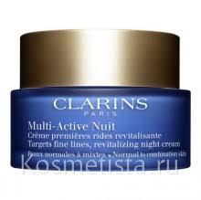 Отзывы на Антивозрастной крем <b>Clarins Multi</b>-<b>Active Night</b> Early ...