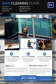 house cleaning flyer psd format house servicing flyer template