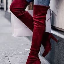 <b>Jeffrey</b> Campbell Perouze Thigh High Boot - Rust   Nastygal   Shoes ...