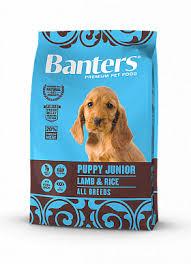 <b>Banters Puppy</b> Junior ягненок с рисом <b>сухой корм</b> для собак