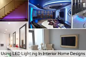 using led lighting in interior home designs amazing home lighting design hd picture