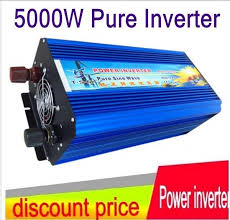 HOT SALE!! <b>5000W</b> 5KW Pure Sine Wave <b>Power Off</b> Grid Inverter ...