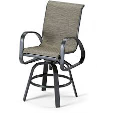 bar height patio chair: allen roth safford swivel bar chairs patio