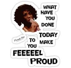 What have you done today to make you feel proud? #miranda hart ... via Relatably.com
