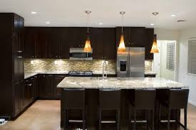 recessed black kitchen island lighting