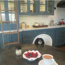 painted blue kitchen cabinets house: julianne houghs kitchenlove it all  julianne houghs kitchenlove it all