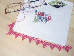 Image result for crochet handkerchief edging patterns
