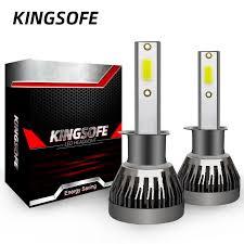 Online Shop Tuyofo <b>2PCS</b> H7 <b>LED</b> 12000LM/PAIR <b>Mini Car</b> ...