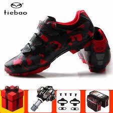 Tiebao <b>MTB Cycling</b> Shoes men sneakers women add <b>SPD pedal</b> ...