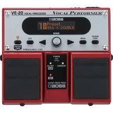 Купить <b>Boss</b> Vocal Processor VE-20 - <b>вокальный процессор</b> по ...