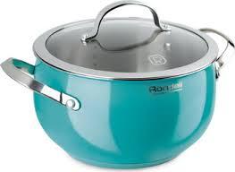 <b>Кастрюля Rondell RDS-717</b> Turquoise купить в интернет ...