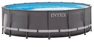 Купить <b>Бассейн Intex</b> Ultra XTR Frame <b>26326</b> на Яндекс.Маркете ...