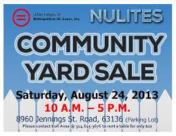 community yard flyer 8 24 2013 ulstl community yard flyer 8 24 2013 community yard flyer 8 24 2013