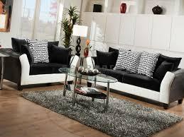 avanti black and white 2 pc living room set 4173 black white living room furniture