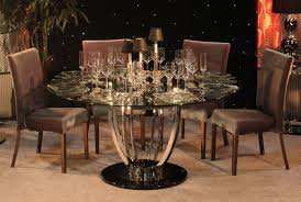 Glass Dining Room Tables Round Dining Room Furniture Set Besides Round Formal Dining Room Table