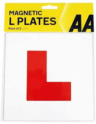 AA L Plates <b>Magnetic</b> (<b>1 Pair</b>): Amazon.co.uk: Car & Motorbike