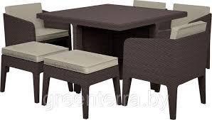 Купить <b>Комплект мебели Keter Columbia</b> из 7 предметов в Минске.