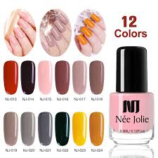 <b>NEE JOLIE Nail</b> Care <b>Polish</b> Oil Base Coat Top Coat Matte Shine ...