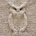 Рисунки для вязания спицами сова