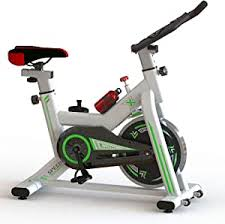Indoor <b>Exercise</b> Bike, Spiral Speed <b>Adjustment</b> with LCD Display ...