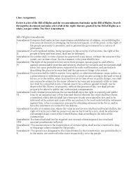 bill of rights essay assignment   order essay  slideshare net