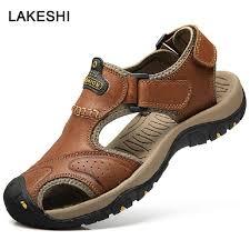 Big Size <b>Men's Sandals Summer</b> Beach <b>Sandals</b> Fashion Man ...