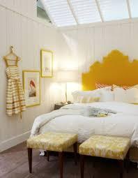 bedroom accents yellow