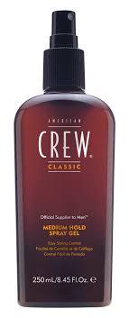 Купить <b>American Crew</b> Classic Medium Hold Spray Gel. <b>Спрей</b>-<b>гель</b> ...
