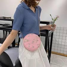 HTNBO <b>Personality Handbag</b> 2019 New Small Round <b>Bag Female</b> ...